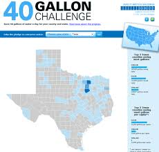Challenge Water Agrilife Extension Challenges Texans To Save 40 Gallons Of Water