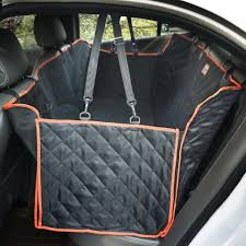 waterproof dog hammock pet dog car seat cover with safety belt
