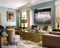 grey blue and brown living room design the suitable home design