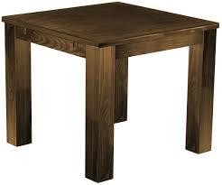 Schreibtisch Echtholz Tisch 100x100 Eiche Antik