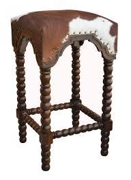 Drafting Table Stools by Bar Stools Bar Stools With Cowhide Seats Cowhide Bar Stools With