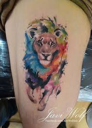 33 best watercolr 3d lion tattoo images on pinterest lion tattoo