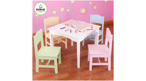 Ikea Children S Table And Chairs Sets Kidkraft Nantucket Table U0026 4 Pastel Chairs Youtube