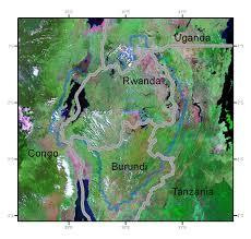 Map Of Rwanda Rwanda Gis Data