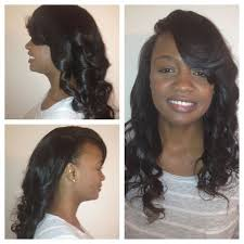 weave no leave out hairstyle brazillian 42 best deep side part weave images on pinterest hair dos cute