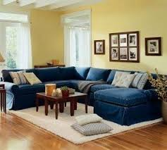 blue sectional sofa with chaise yellow sectional sofa foter
