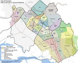 san jose district map fremont city council chooses less popular district map