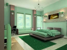 painting room purple and green house design ideas