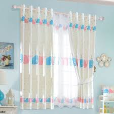 Fish Curtains Baby Blue Polka Dots Fish Bedroom Curtains