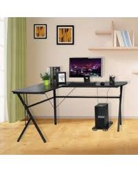 Huge Deal On Outad Corner Computer Desk Large L Shaped Computer