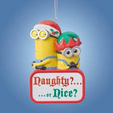 despicable me minion tree ornaments despicableme