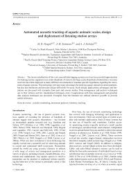 automated animal tracking scales design and deployment of