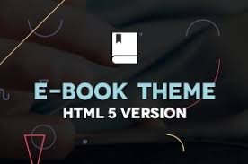 html5 templates for books premium and free html5 website templates pixeden