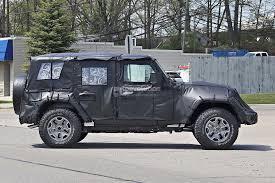 2018 jeep comanche pickup 2017 2018 jeep wrangler redesign spy shoot car 2018 2019