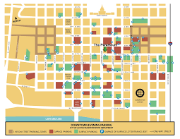 City Of Austin Map by Parking