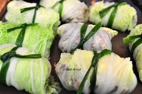 cuisiner le chou chinois cuit chou chinois farci à la vietnamienne coupe et cuit