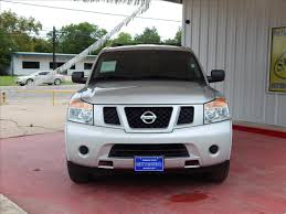 nissan armada cargo space silver nissan armada in texas for sale used cars on buysellsearch