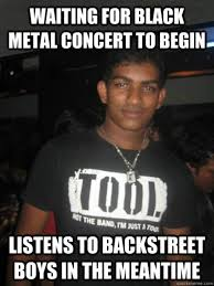 Metal Memes - indian metal fan know your meme