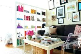 Living Room Divider Ikea Ikea Bookcase Rooms Divider How To Make A Temporary Room With