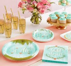 bridal brunch favors bridal shower themes tableware supplies party city