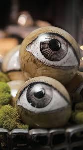 eyeball orbs set of eight eye halloween ideas and holidays