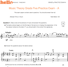 hello music theory pass your music theory exam practice papers
