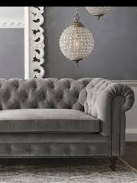 sofa dazzling gray velvet tufted sofa grey sofas gray velvet