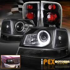 1998 2000 ford ranger halo led projector headlights signal w