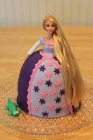 tangled birthday cake lavender tangled doll fondant birthday cake s food