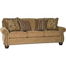mayo furniture 2440f fabric sofa captain crystal mayo fabric