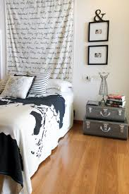 Ikea World Map Black U0026 White Bedroom With Ikea Fabric Urban Outfitters World Map