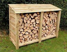 wood store log stores garden structures shade ebay
