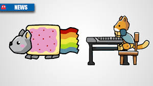 Scribblenauts Memes - nyan cat keyboard cat creators sue scribblenauts dev