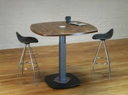 Bar Height Conference Table Custom Meeting Room Tables Single Pedestal Stoneline Designs