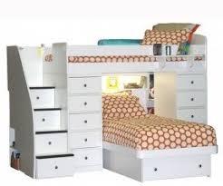 Desk Dresser Combination Bunk Bed With Dresser And Desk Foter