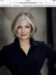 platinum hair on 50 year old style is truly ageless agelessbeauty http ncnskincare com