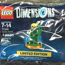 Dimensions by Amazon Com Lego Dimensions Green Arrow Limited Edition Minifigure