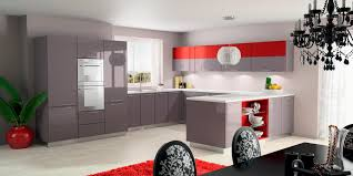 Red Kitchen Ideas Red Kitchen Cabinet Reddish Brown Kitchen Cabinets At The Home