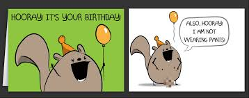Meme Happy Birthday Card - horrible cards happy birthday cards by the oatmeal