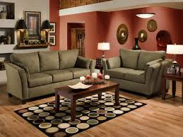 Casual Living Room With Red Accents Intended Design Ideas - Casual living room chairs
