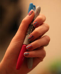 quick easy nail designs rainbow sbbb info