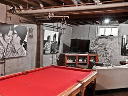 this urban basement has been transformed into a multipurpose