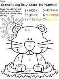 groundhog coloring printables coloring pages