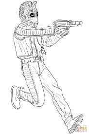 greedo coloring page free printable coloring pages