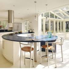 curved kitchen island designs 16 impressive curved kitchen island designs the home design