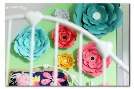 Big Bloom Paper Flower Wall Decor Sugar Bee Crafts