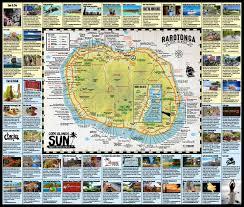 2017 2018 rarotonga visitor map by cook islands sun issuu