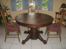 antique dining room table chairs value of antique oak tiger claw dining table my antique furniture