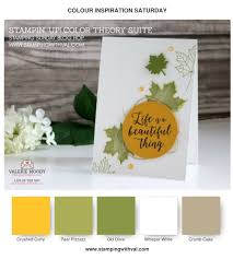 stampin up thanksgiving cards ideas colorful seasons stampin up pinterest color inspiration