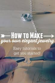 Learning To Make Jewelry - best 25 diy jewelry projects ideas on pinterest